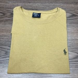 Polo Ralph Lauren Tan Crewneck T-Shirt M